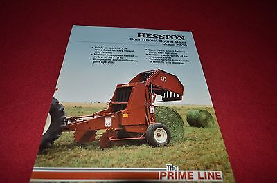 Hesston 5545 Round baler Manual