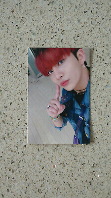 official ateez zero fever part 1 mmt photocard jongho thanxx ver