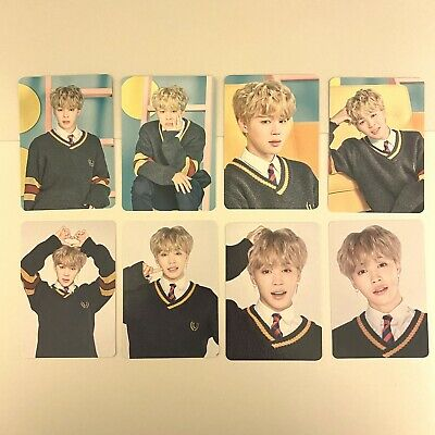 jimin set bts official 4th muster happy ever after japan mini photocard