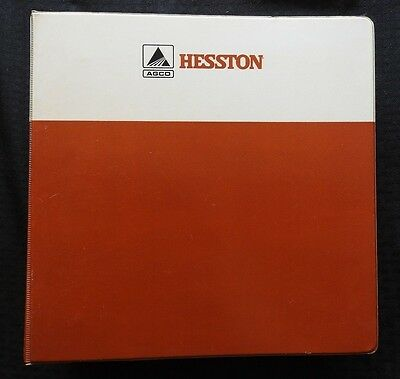 Hesston 8100 Manual